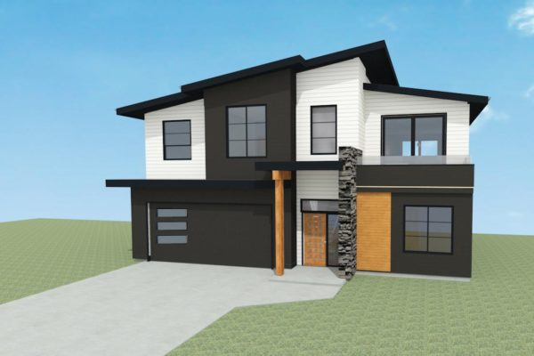 LINFIELD DRIVE - LOT 3 - COLOURED RENDERING